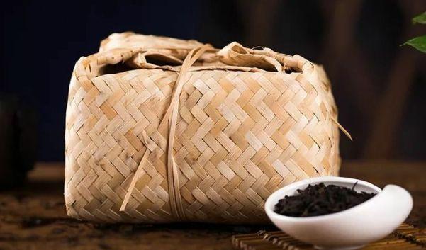 竹篓包装天尖茶
