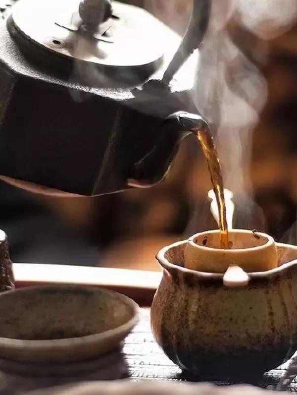 冬天喝黑茶
