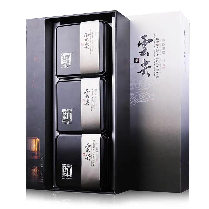 印象云尖礼盒装 白沙溪特级料湘尖高山芽尖茶