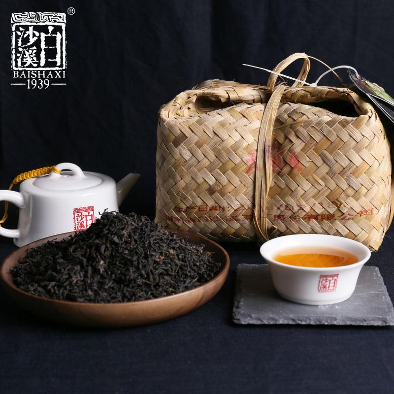 白沙溪天尖茶竹篓装1kg 散茶湘尖茶 松香
